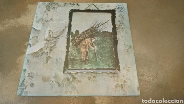 LED ZEPPELIN. VOL IV. RARA EDICIÓN DE CHILE ORIGINAL DE 1975. BUEN ESTADO. EDICION CHILENA (Música - Discos - LP Vinilo - Pop - Rock - Extranjero de los 70)