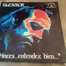 Discos de vinilo: GLENMOR–PRINCES, ENTENDEZ BIEN ... . LP VINILO FRANCIA. 1973. BUEN ESTADO. Lote 186049247