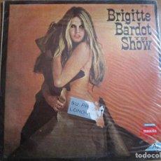 Discos de vinilo: BRIGITTE BARDOT Y SU SHOW LP EDITADO EN ARGENTINA PROMOCIONAL ( VER FOTOS ADICIONALES ). Lote 186049960
