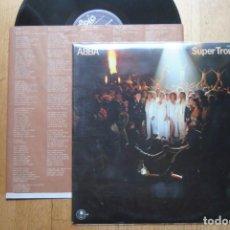 Discos de vinilo: ABBA. SUPER TROUPER. 1980. LP SPAIN. CON ENCARTE. Lote 186050106