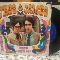 Discos de vinilo: JESS & JAMES CHANGE SINGLE SPAIN 1969 PDELUXE. Lote 186051273