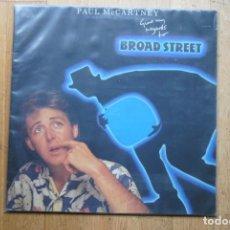 Discos de vinilo: PAUL MCCARTNEY. GIME MY REGARDS YO BROAD STREET. EMI ODEON 1984. LP GATEFOLD.. Lote 186051371
