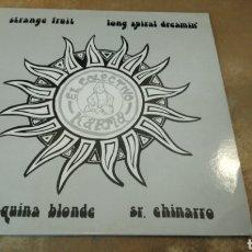 Discos de vinilo: EL COLECTIVO KARMA. SR CHINARRO/STRANGE FRUIT /LA MÁQUINA BLONDE. LP VINILO EN PERFECTO ESTADO.. Lote 186051493