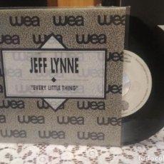 Discos de vinilo: JEFF LYNNE EVERY LITTLE THING SINGLE SPAIN 1990 PDELUXE. Lote 186052225