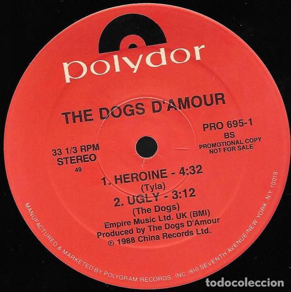 Discos de vinilo: THE DOGS D' AMOUR – I Don't Want You To Go - Foto 3 - 186052480