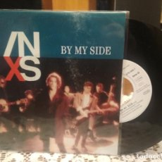 Discos de vinilo: INXS BY MY SIDE SINGLE GERMANY 1990 PDELUXE. Lote 186052820