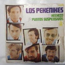 Discos de vinilo: SINGLE / LOS PEKENIKES / HECHIZO - PUNTOS SUSPENSIVOS / 1968. Lote 186053662