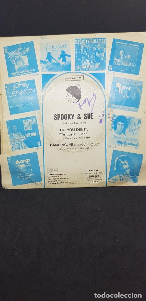 Discos de vinilo: SPOOKY & SUE DO YOU DIG IT? 1976 - Foto 2 - 186057288