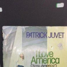 Discos de vinilo: PATRIC JUVET 'I LOVE AMERICA' 1978. Lote 186057723