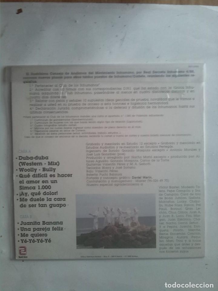 Discos de vinilo: LOS INHUMANOS - 30 HOMBRES SOLOS - Foto 2 - 186058000