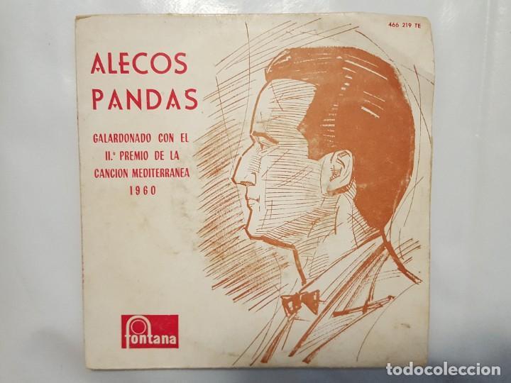 EP / ALECOS PANDAS - / THE KLEPSO TA TRIANDAPHILLA +3 / 1960 (Música - Discos de Vinilo - EPs - Pop - Rock Internacional de los 50 y 60)