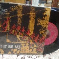 Discos de vinilo: NEW TROLLS LET IT BE ME SINGLE SPAIN 1977 PDELUXE. Lote 186059177