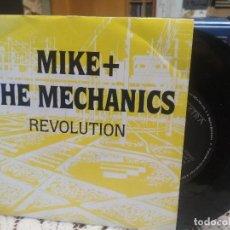 Discos de vinilo: MIKE + THE MECHANICS REVOLUTION SINGLE SPAIN 1989 PDELUXE. Lote 186062001