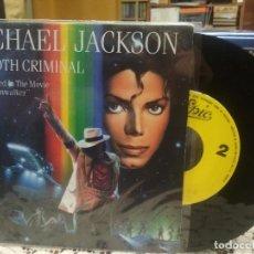 Discos de vinilo: MICHAEL JACKSON SMOOTH CRIMINAL SINGLE SPAIN 1987 PDELUXE. Lote 186062621