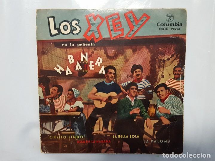 EP / LOS XEY EN LA PELICULA HABANERA / LA PALOMA-LA BELLA LOLA-CIELITO LINDO-ALLA EN LA HABANA/1959 (Música - Discos de Vinilo - EPs - Grupos Españoles 50 y 60)
