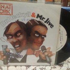 Discos de vinilo: MEN AT WORK DR.HECKYLL & MR.JIVE SINGLE SPAIN 1983 PDELUXE. Lote 186063375
