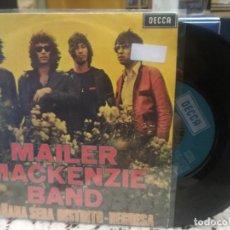 Discos de vinilo: MAILER MACKENZIE BAND MAÑANA SERA DISTINTO SINGLE SPAIN 1971 PDELUXE. Lote 186063780