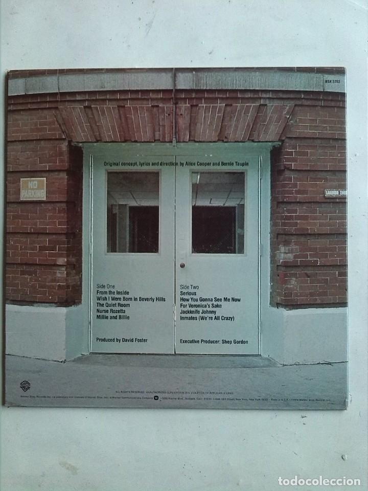 Discos de vinilo: ALICE COOPER - FROM THE INSIDE - Foto 5 - 186064747