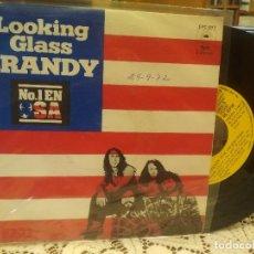 Discos de vinilo: LOOKING GLASS BRANDY SINGLE SPAIN 1972 PDELUXE. Lote 186064905