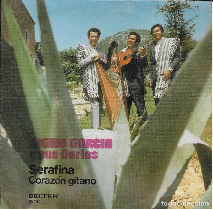 DIGNO GARCIA Y SUS CARIOS SERAFINA BELTER 1972 (Música - Discos - Singles Vinilo - Grupos y Solistas de latinoamérica)