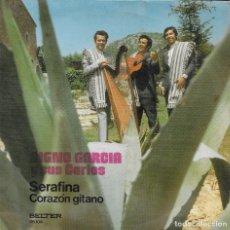 Discos de vinilo: DIGNO GARCIA Y SUS CARIOS SERAFINA BELTER 1972. Lote 186088802