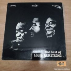 Discos de vinilo: THE BEST OF LOUIS ARMSTRONG. Lote 186089386