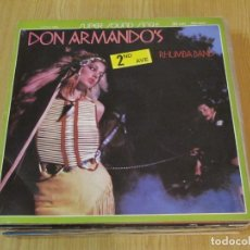 Discos de vinilo: DON ARMANDO'S 2ND AVE RHUMBA BAND - YO TAMBIEN SOY UN INDIO / DEPUTY OF LOVE - ISLAND 0162 - PROMO. Lote 185884962