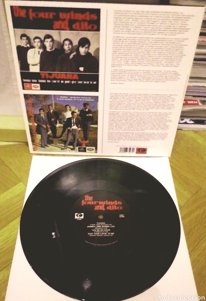 Discos de vinilo: FOUR WINDS AND DITO 10 Pulgadas LP Electro Harmonix 2013 - Foto 2 - 186089746