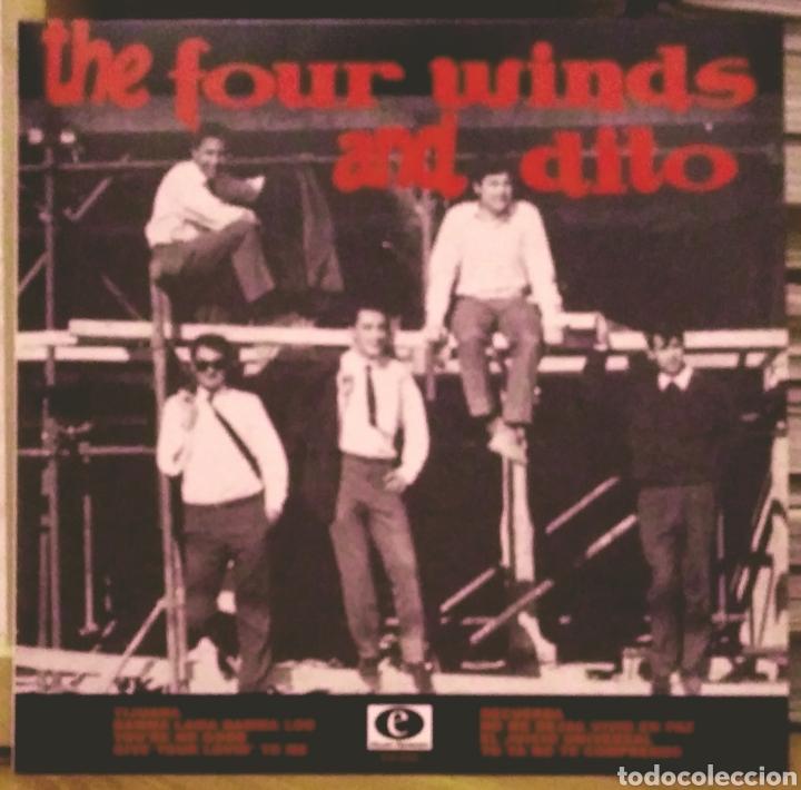 FOUR WINDS AND DITO 10 PULGADAS LP ELECTRO HARMONIX 2013 (Música - Discos - LP Vinilo - Grupos Españoles 50 y 60)