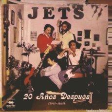 Discos de vinilo: JETS - 20 AÑOS DESPUÉS LP MARFER 1982. Lote 186090081