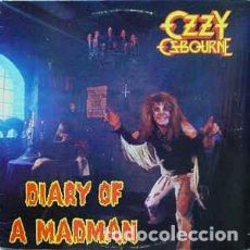 Discos de vinilo: OZZY OSBOURNE – DIARY OF A MADMAN . Lote 186090120
