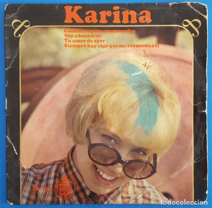 EP / KARINA / CONCIERTO PARA ENAMORADOS +3 / 1966 (Música - Discos de Vinilo - EPs - Solistas Españoles de los 50 y 60)