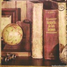 Discos de vinilo: LOS BRAVOS - HISTORIA DE LOS BRAVOS 2LP COLUMBIA 1978. Lote 186091661