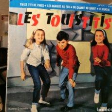 Discos de vinilo: LES TOUISTITIS. FRANCIA 1962. Lote 186094437