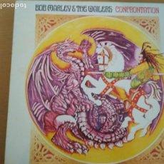 Disques de vinyle: BOB MARLEY CONFRONTATION LP SPAIN 1983. Lote 186094795