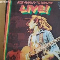 Discos de vinilo: BOB MARLEY AND THE WAILERS LIVE LP SPAIN 1978. Lote 186094871