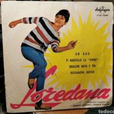 Discos de vinilo: LOREDANA - FRANCO PISANO. ITALIA AÑOS 60.. Lote 186095380