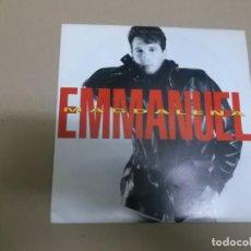 Discos de vinilo: EMMANUEL (SINGLE) MAGDALENA AÑO – 1992 - PROMOCIONAL. Lote 186096537
