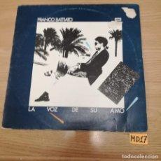 Discos de vinilo: LA VOZ DE SU AMO. Lote 186097270