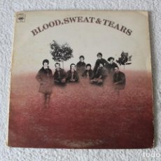 Discos de vinilo: BLOOD, SWEAT AND TEARS: BLOOD, SWEAT AND TERAS M.T. - LP. CBS 1968 (DOBLE PORTADA) EDICION UK.. Lote 186098351