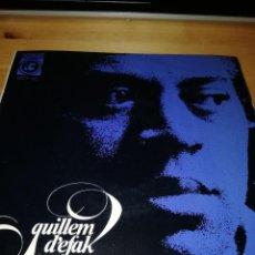 Discos de vinilo: GUILLEM D'EFAK - FRANCESC BURRULL - PLORANT (CRY) - FEBRE (FEVER) +2 - CONCÈNTRIC 1965. Lote 186100507