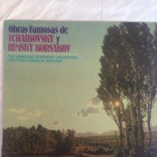 Discos de vinilo: TCHAIKOVSKY, RIMSKY-KORSAKOV. Lote 186107816