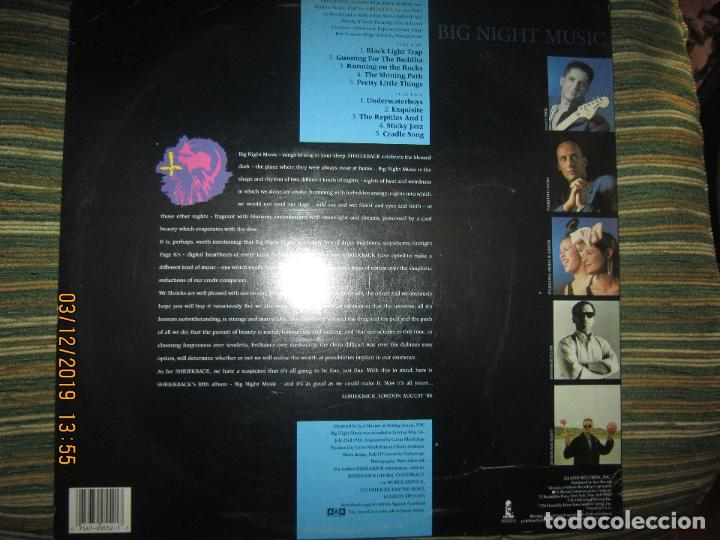 Discos de vinilo: SHRIEKBACK BIG NIGHT MUSIC LP - ORIGINAL U.S.A - ISLAND 1986 MUY NUEVO (5). CON FUNDA INT. ORIGINAL - Foto 2 - 186124690
