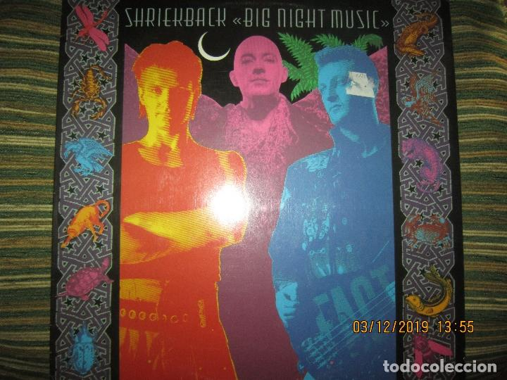 SHRIEKBACK BIG NIGHT MUSIC LP - ORIGINAL U.S.A - ISLAND 1986 MUY NUEVO (5). CON FUNDA INT. ORIGINAL (Música - Discos - LP Vinilo - Pop - Rock - New Wave Extranjero de los 80)