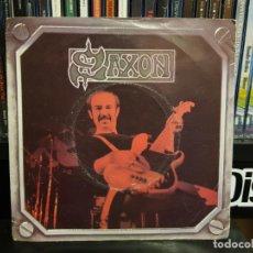 Discos de vinilo: SAXON - BACKS TO THE WALL. Lote 186132007