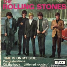 Discos de vinilo: ROLLING STONES - TIME IS ON MY SIDE - SINGLE . Lote 186142618