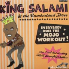 Discos de vinilo: KING SALAMI AND THE CUMBERLAND THREE, ROOTIE, TOOTIE BABY , THE BIRDOG +2. Lote 186152566