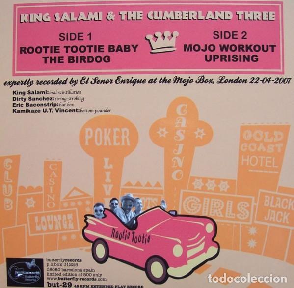 Discos de vinilo: KING SALAMI AND THE CUMBERLAND THREE, ROOTIE, TOOTIE BABY , THE BIRDOG +2 - Foto 2 - 186152566