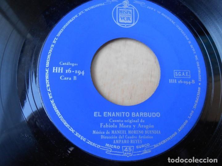 Discos de vinilo: CUENTOS DE FABIOLA - FABIOLA MORA Y ARAGON -, EP, EL REY DE LAS AGUAS + 1, AÑO 1960 - Foto 4 - 186152828
