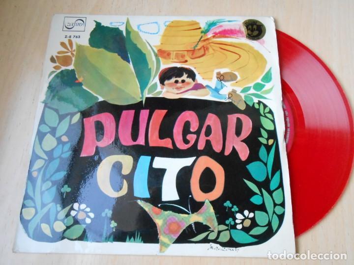 CUENTO - TEATRO INVISIBLE DE RADIO NACIONAL ESPAÑA, DE BARCELONA, EP, PULGARCITO + 1, AÑO 1967 (Música - Discos de Vinilo - EPs - Música Infantil)